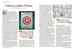 Images were created from Creative Commons art, which I manipulated in Photoshop. (We had no art budget to speak of at this magazine.)