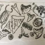 Edisto, trace monoprint, created at Women's Studio Workshop, 2008