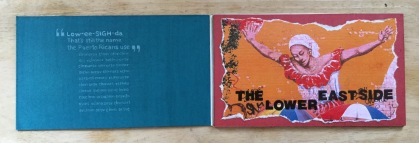 Book object layout project from my art school days.