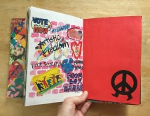 Art school artist book project.