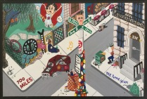 I placed some of my favorite, authentic East Village memories all on the same fictional block.