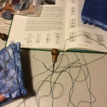 Completing the coptic binding of Sky Pockets