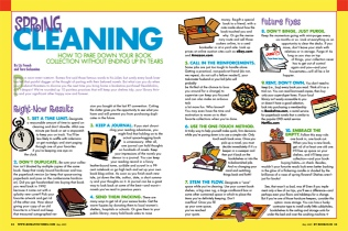 Created with the very modest cost of clipart, which I manipulated in Illustrator. (We had no art budget to speak of at this magazine.)