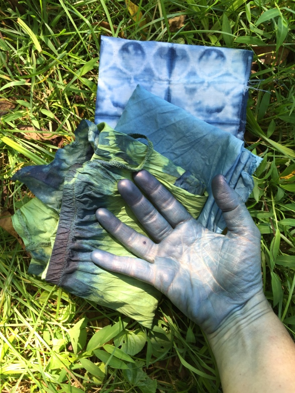 Indigo blue hands, WSW 2015