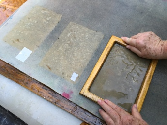 Brooklyn artist, handmade paper, Women's Studio Workshop